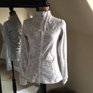 Jackets & Blazers - Zip Up Athletic Jacket *rip on Sleeve